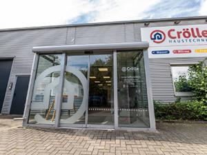 Foto der Eingangsbereich von der Crölle Haustechnik GmbH in Recklinghausen